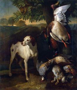 Депорт Александр Франсуа Собака и дичь