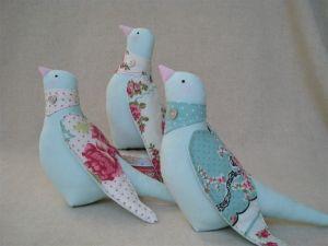 Куклы ручной работы Весенние птички, набор