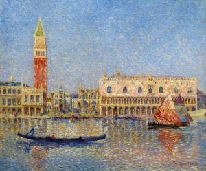 Пюигадо дю Фердинанд Венеция, Дворец дожей