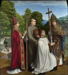 Герард Давид Бернадин Сальвіаті і троє святих