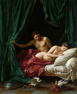 Лагрене Луи Жан-Франсуа Марс и Венера, аллегория мира