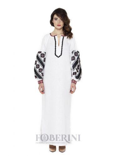 """Платье вышиванка """"Белый Ангел"""""""