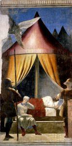 Франческа делла Пьеро Сон императора Константина