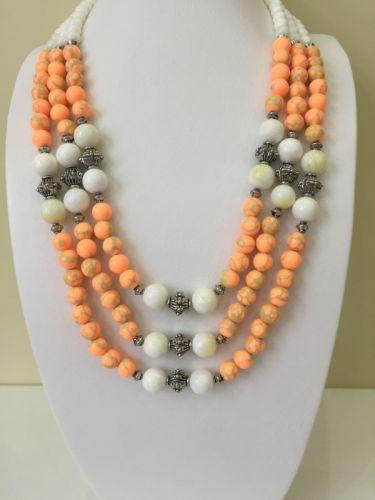 """Ожерелье """"Апельсиновая фантазия"""" - изображение 1"""