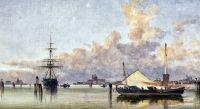 Лодки на берегу Венецианской лагуны