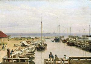 Порт в Драгоре, Данія