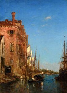 Зим Феликс Гондолы в Венеции