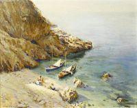 Побережье в бухте Амальфи