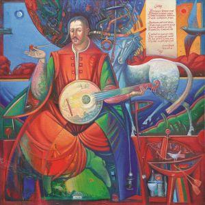 """Українське сучасне мистецтво Із серії """"Козак Мамай"""" - 82"""
