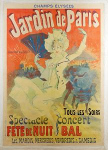 Шере Жюль Jardin de Paris