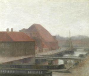 Символізм Вид каналу Frederiksholm