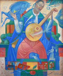 """Українське сучасне мистецтво Із серії """"Козак Мамай"""" - 87"""