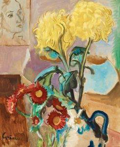Експресіонізм Квітковий натюрморт №4