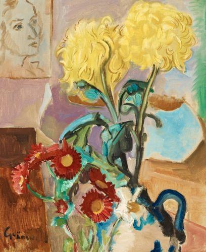 Цветочный натюрморт №4