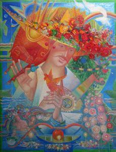 """Українське сучасне мистецтво Із серії """"Козак Мамай"""" - 97"""