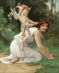 Синьяк Гийом Венера и Амур