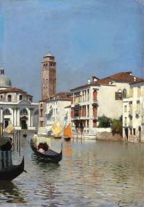 Санторо Рубенс Венецианский канал №2