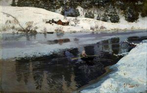 Таулов Фриц Река Симоа зимой