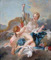Венера разоружает Амура