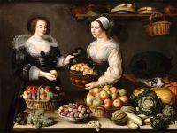 Торговка фруктами и овощами