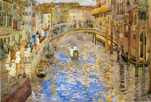 Мотив на Венецианском канале