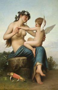 Академизм Венера и Амур