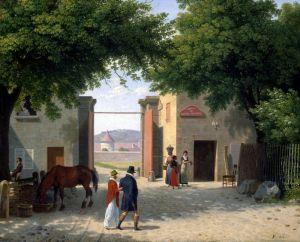 Іноземні класики Ворота Лоншан в Булонському лісі
