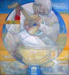"""Українське сучасне мистецтво Із серії """"Козак Мамай"""" - 88"""