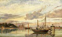 Венецианская лагуна на закате
