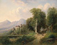 Вид замка Матцен