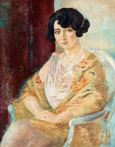 Портрет дами