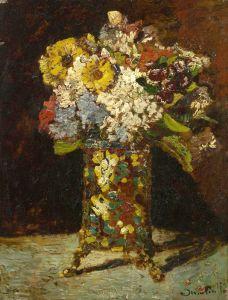 Импрессионизм Цветочный натюрморт