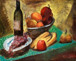 Экспрессионизм Натюрморт с фруктами