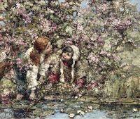 У пруда с лилиями