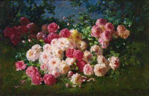 Грейвс Эббот Фуллер Розовые и красные розы