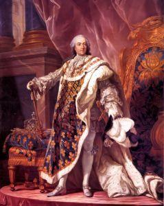 Ван Лоо Луи Мишель Король Франции Людовик XV