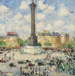 Луазо Гюстав Площадь Бастилии 2