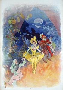 Шере Жюль Musee Grevin. Theatre les Fantoches