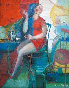 """Украинское современное искусство Из цикла """"Женщины и зонтики"""" - 3"""