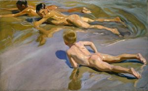 Соролья Хоакин Мальчики на пляже