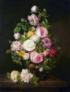Барокко Натюрморт с цветами