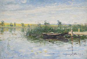 Йоханссон Карл Пейзаж с рекой