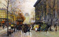 Цветочный рынок площади Мадлен