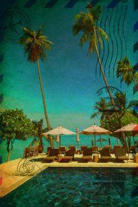 Фотокартины для интерьера Тропический курорт