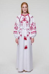 Свадебное платье Громовица бордо