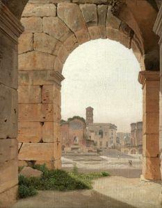 Класицизм Вид Форуму від Колізею