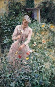 Клаус Эмиль В саду
