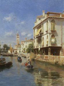 Санторо Рубенс Большой канал, Венеция №2