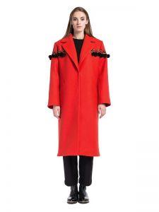 Пальто ручної роботи Жіноче пальто Terracotta.W