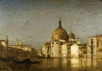 Церковь св. Симеона малого, Гранд-канал, Венеция